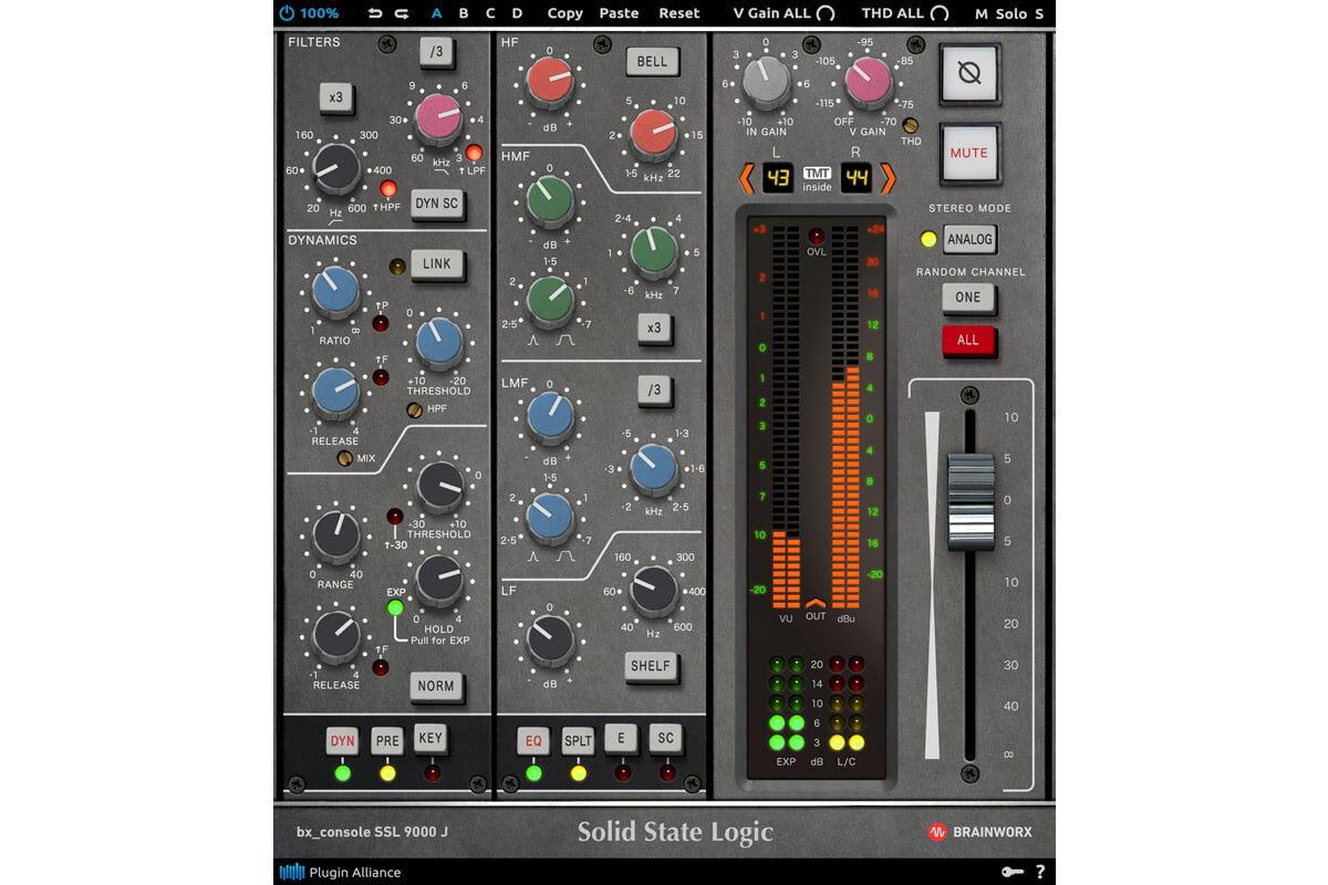 Brainworx Audio bx_console SSL 9000 J