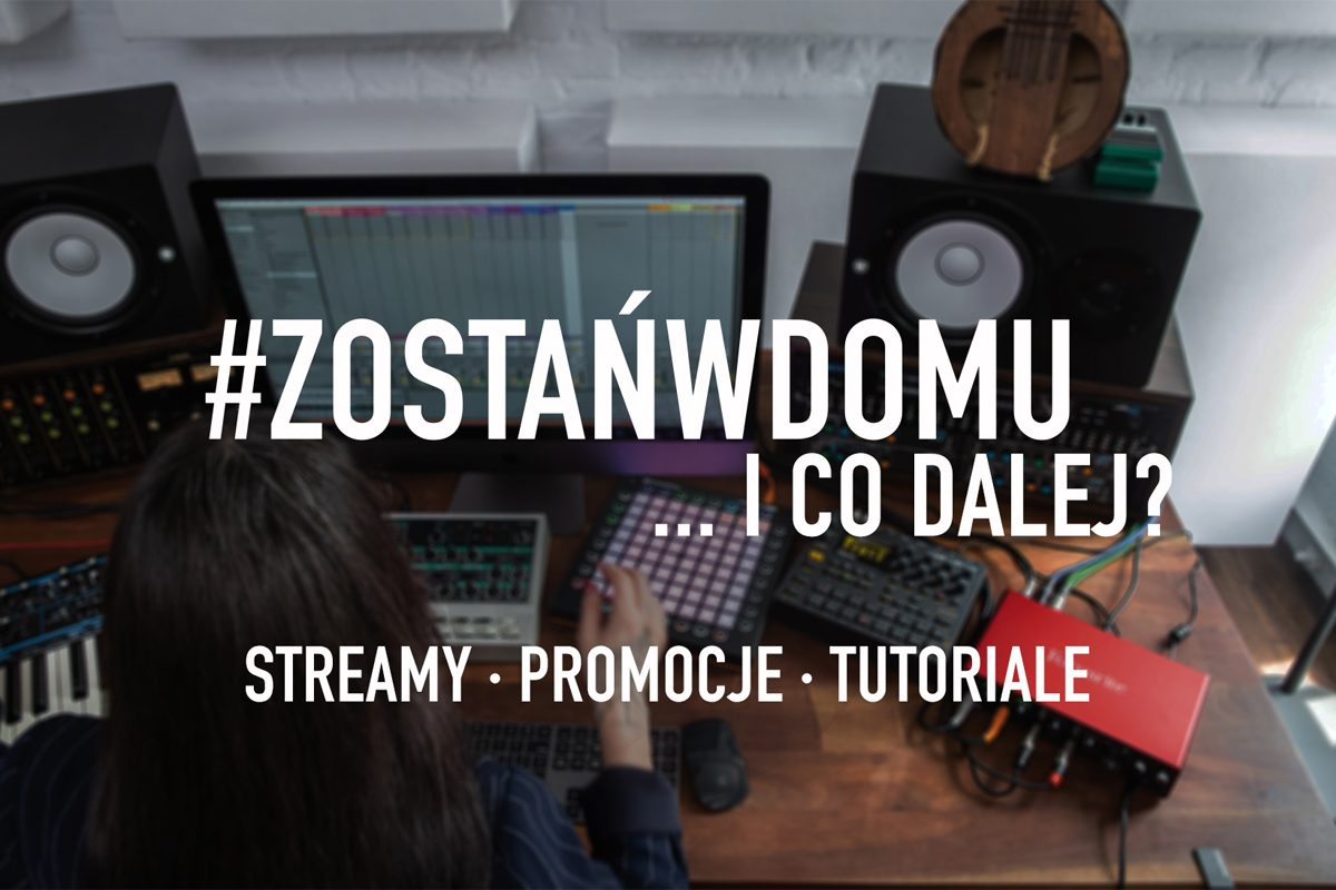 Audiotech – zostańcie w domu, twórzcie muzykę!