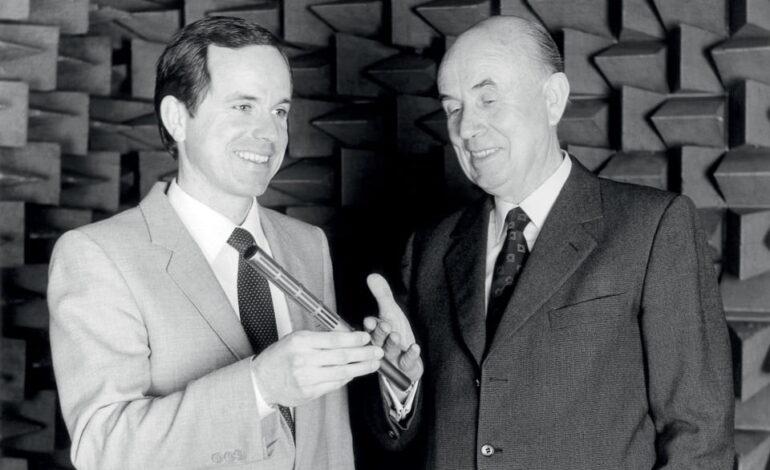 1982 Fritz Joerg Sennheiser