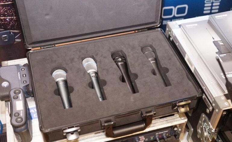 Shure mikrofony