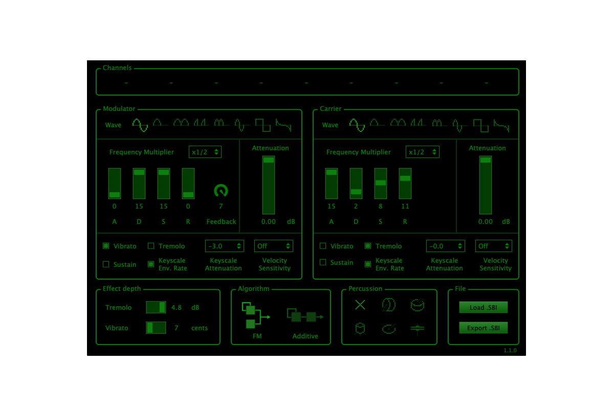 discoDSP OPL – wirtualny syntezator FM