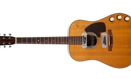 Gitara Kurta Cobaina na aukcji MUSIC ICONS