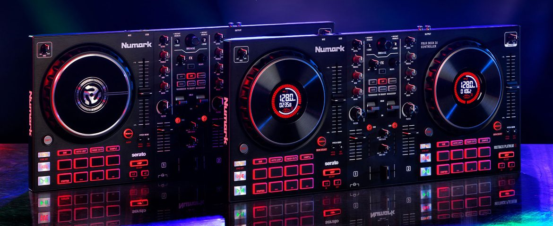 Numark Mixtrack Platinum FX i Mixtrack Pro FX