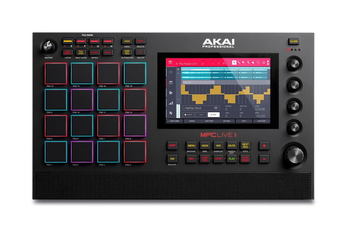 Akai MPC Live II – nowa stacja robocza