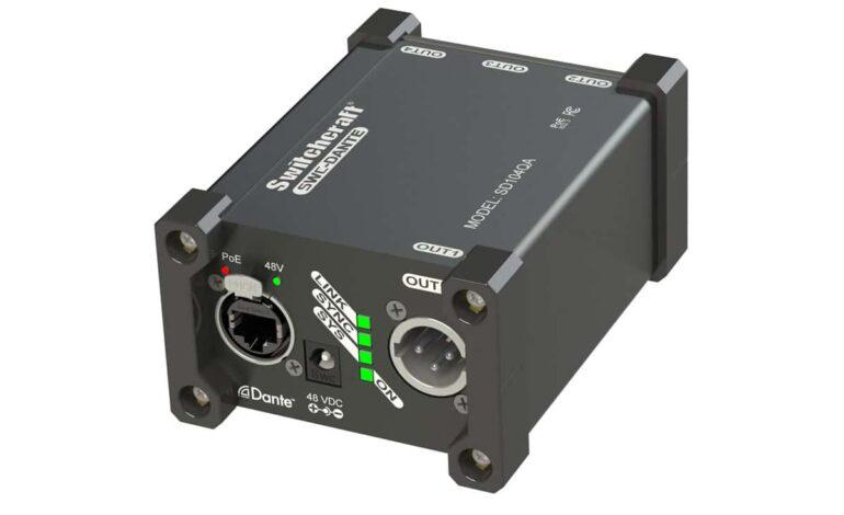 Switchcraft SD104QA dla systemów Dante