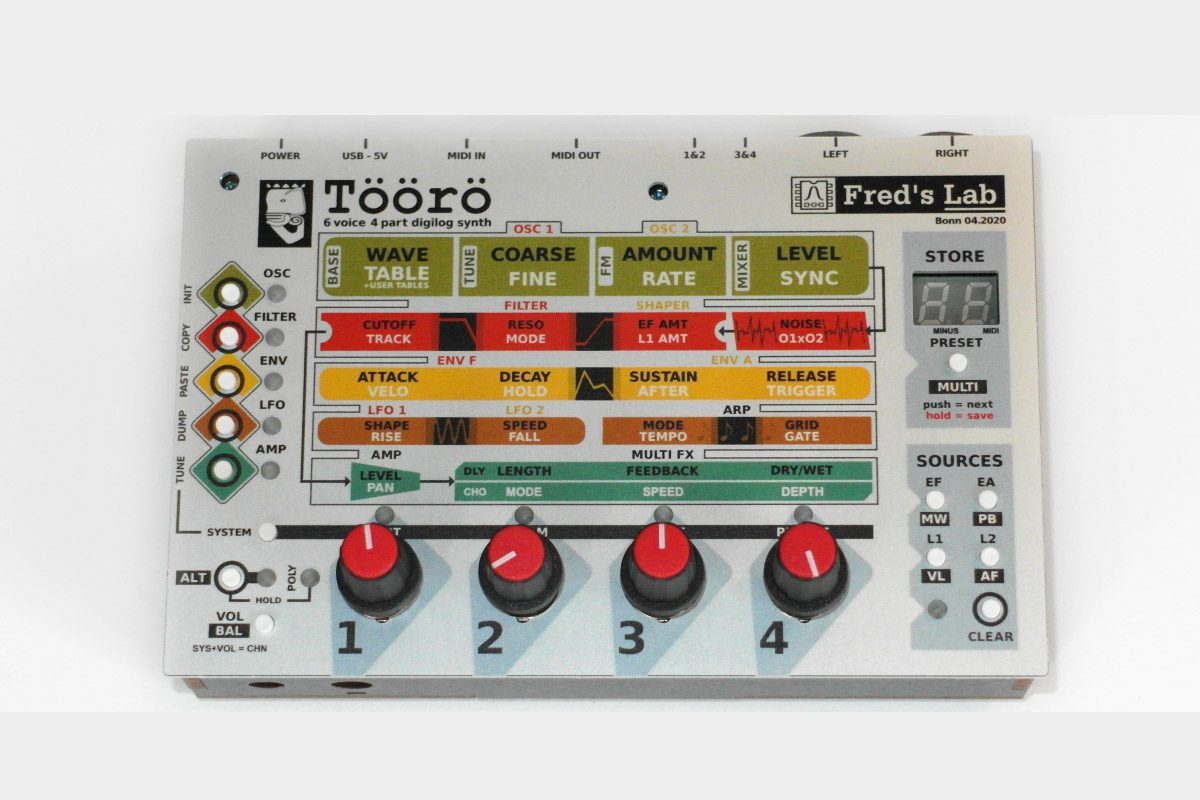 Fred's Lab Töörö – hybrydowy syntezator