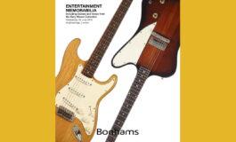 Gitary Gary'ego Moore'a sprzedane w Londynie