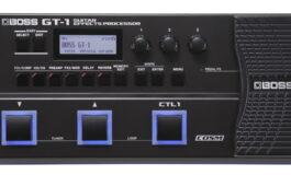 BOSS GT-1 – nowy procesor gitarowy