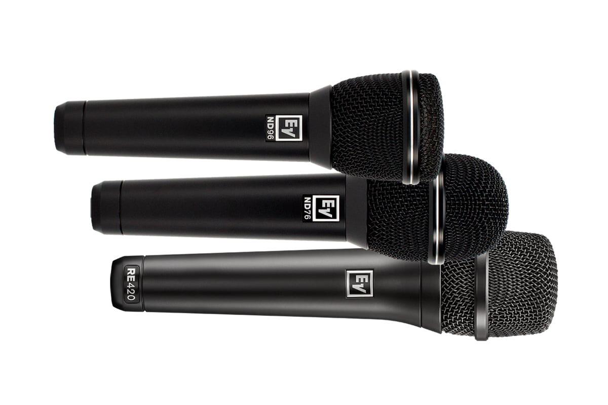 Przegląd – wokalne mikrofony estradowe: Electro-Voice