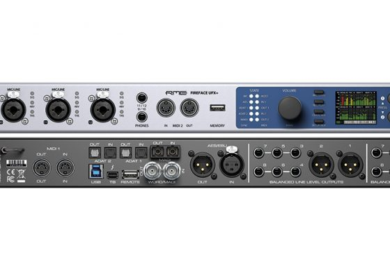 RME Fireface UFX+ – nowy interfejs audio