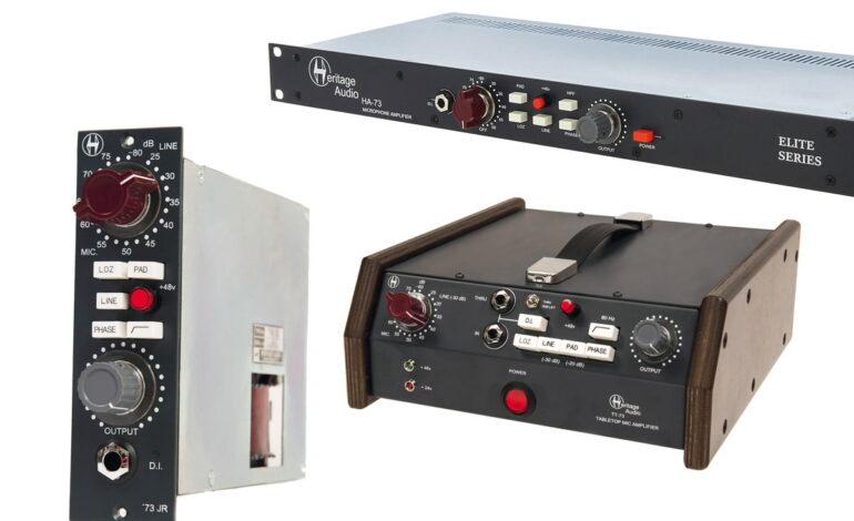 Przegląd – przedwzmacniacze mikrofonowe: Heritage Audio