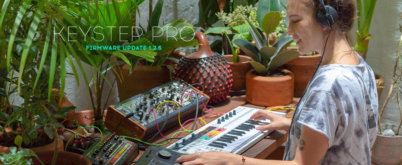 Arturia KeyStep Pro – nowy firmware 1.2.6