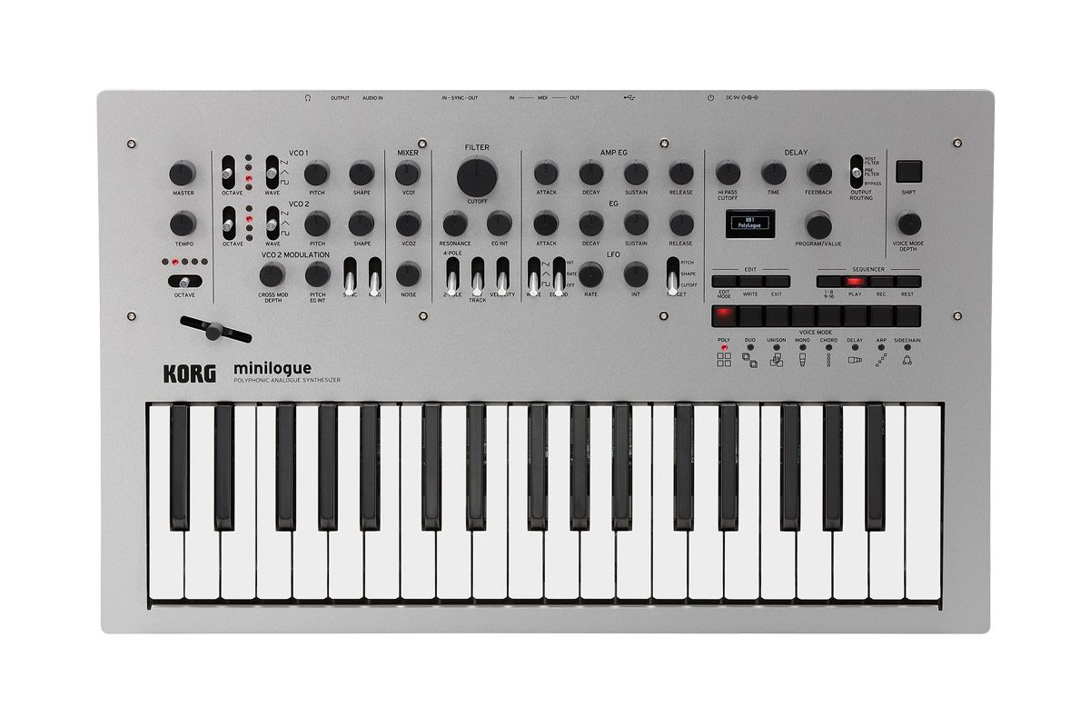 Korg minilogue – nowy syntezator analogowy