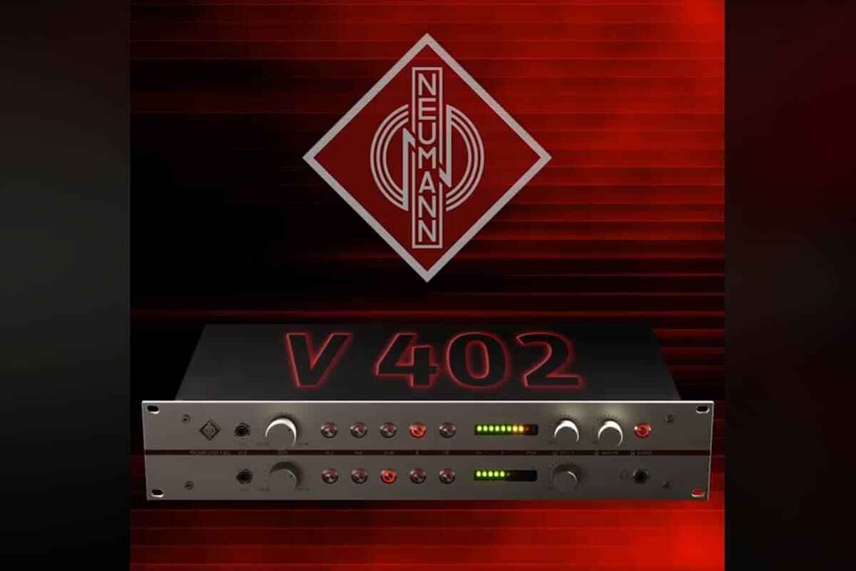 V 402 – firma Neumann zapowiada przedwzmacniacz