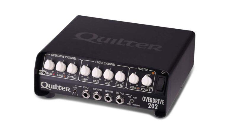 Quilter Labs Overdrive 202 – nowy wzmacniacz gitarowy