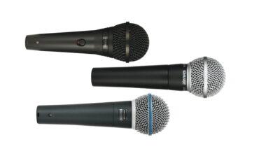 Przegląd – dynamiczne mikrofony wokalne: Shure