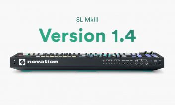 Novation SL MkIII – nowy firmware v1.4
