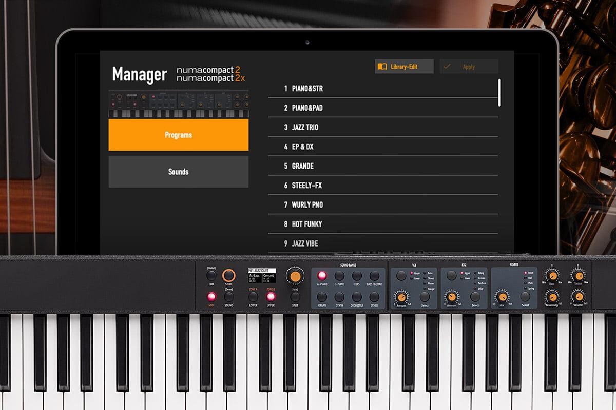 Studiologic Numa Compact 2 / 2x – aktualizacja