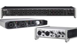 Przegląd – interfejsy audio USB: Tascam