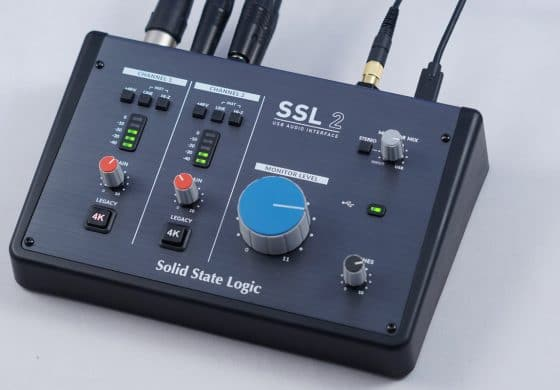 Solid State Logic SSL 2 – test interfejsu audio