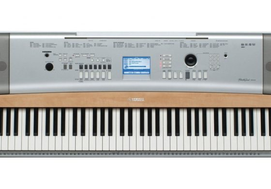 Yamaha DGX-630 – test keyboardu
