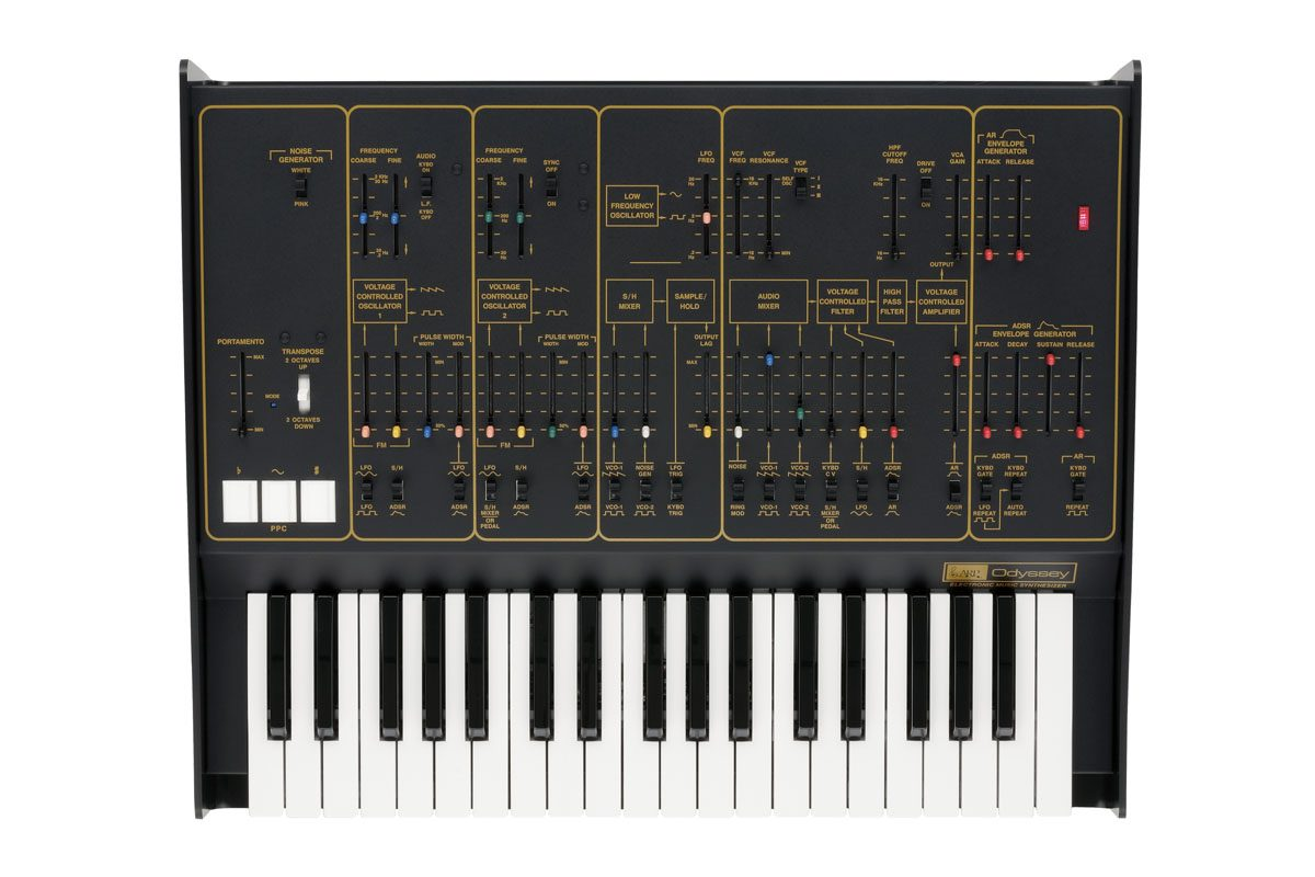 ARP Odyssey FS – syntezator z nową klawiaturą