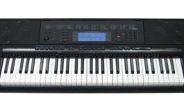 Casio CTK-5000 – test keyboardu