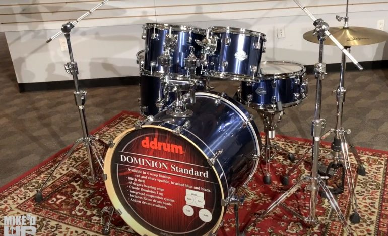 Mike'd Up! – ddrum Dominion Standard