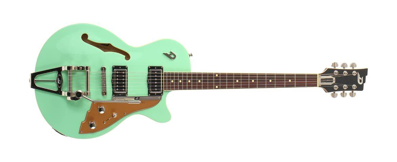 Duesenberg Starplayer TV Surf Green – test gitary elektrycznej