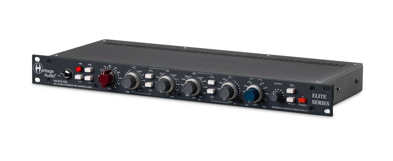 HA-81A Elite – nowy channel strip firmy Heritage Audio