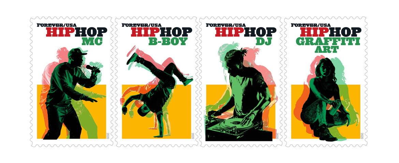 Hip-hopowe znaczki pocztowe