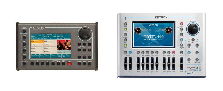 Ketron SD40 i Midjpro – aktualizacje systemu