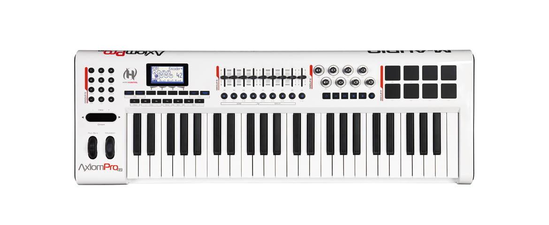 M-Audio Axiom Pro 49 – test klawiatury sterującej