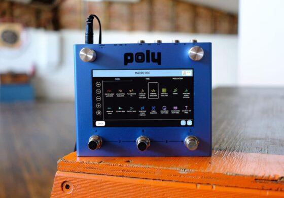 Poly Beebo – modularny multiefekt