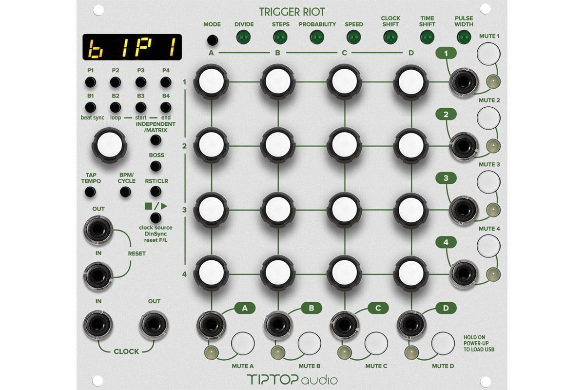 Tiptop Audio Trigger Riot w nowych szatach