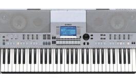 Yamaha PSR-S550 – test keyboardu