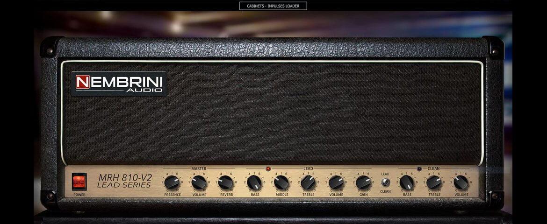 Nembrini Audio MRH810 V2 – wirtualny wzmacniacz