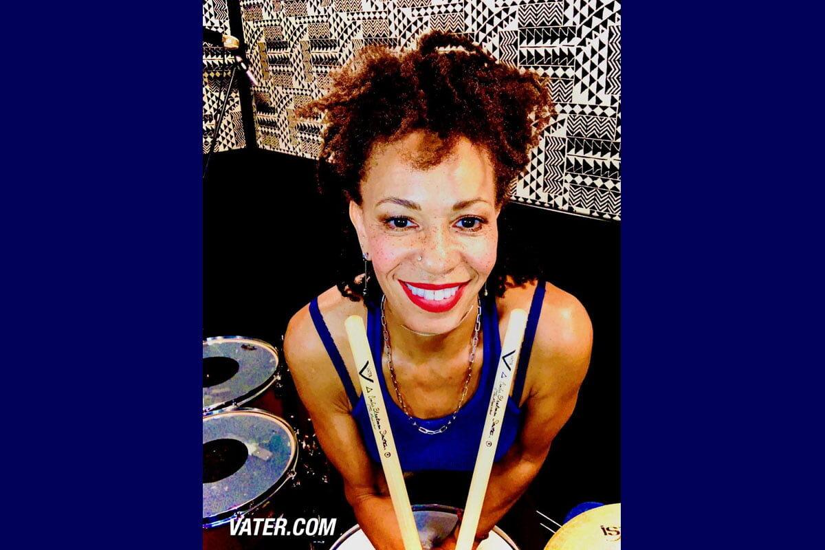 Cindy Blackman Santana artystką Vater Drumsticks