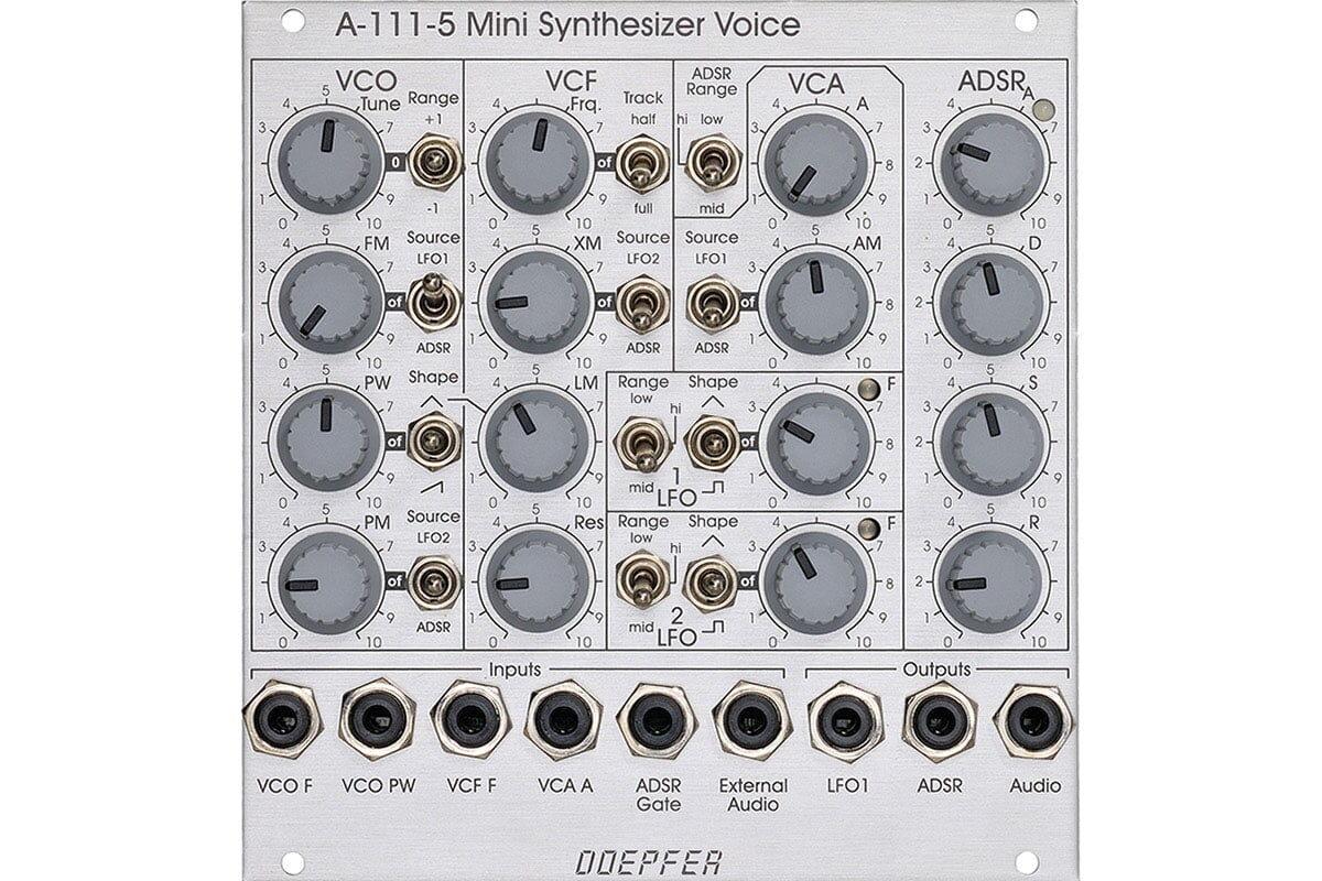 Doepfer A-111-5 wkrótce ponownie dostępny