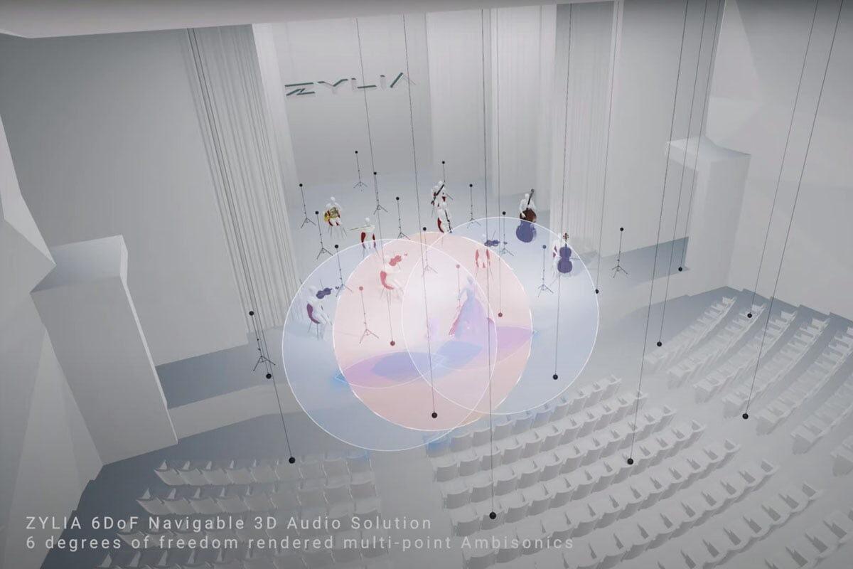 Zylia 6DoF VR/AR – przeżyj koncert w niecodzienny sposób