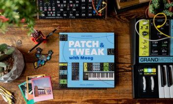 """""""PATCH & TWEAK with Moog"""" – nowa książka dla fanów syntezatorów"""