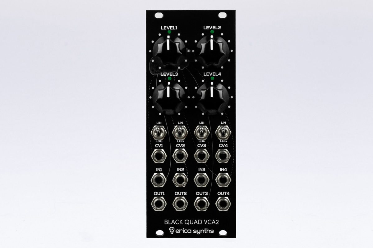 Erica Synths Black Quad VCA2