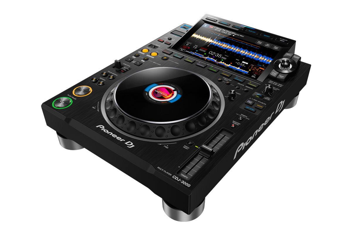 Pioneer DJ CDJ-3000 – nowy odtwarzacz dla DJ'ów