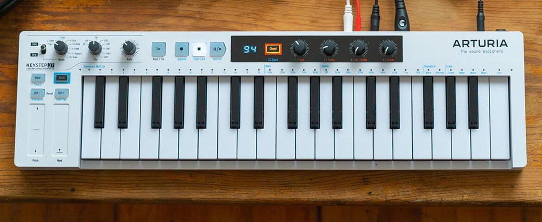 Arturia KeyStep 37 – nowa klawiatura z sekwencerem