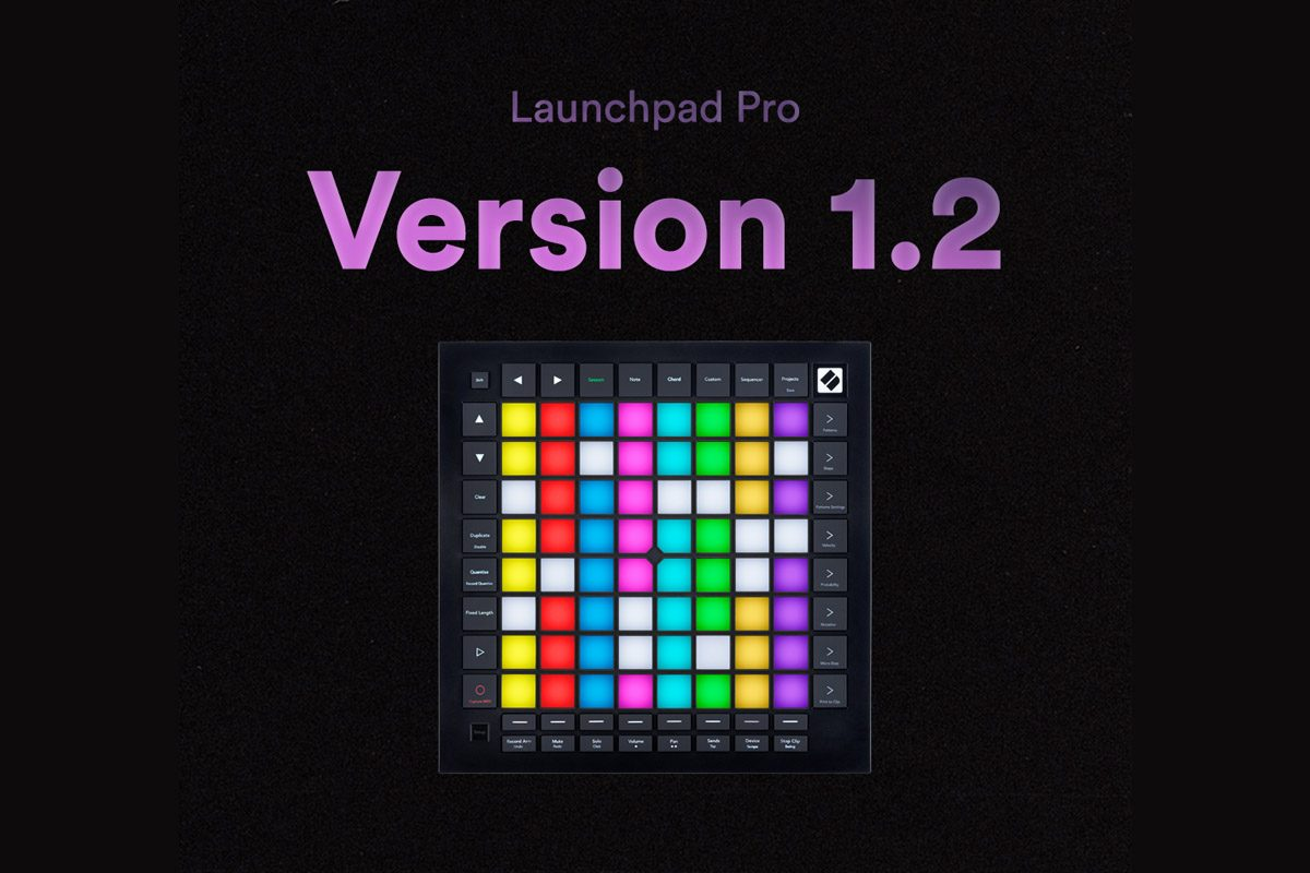 Novation Launchpad Pro v1.2 – nowy firmware