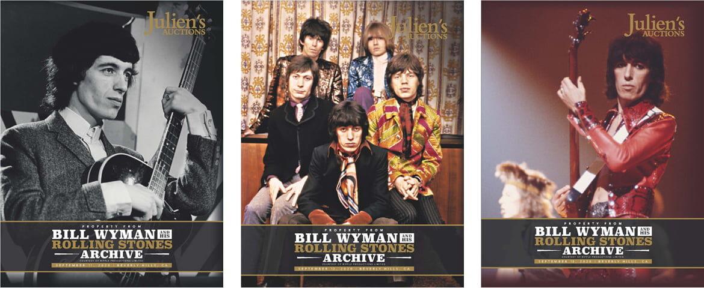 Instrumenty i nne pamiątki Billa Wymana sprzedane na aukcji