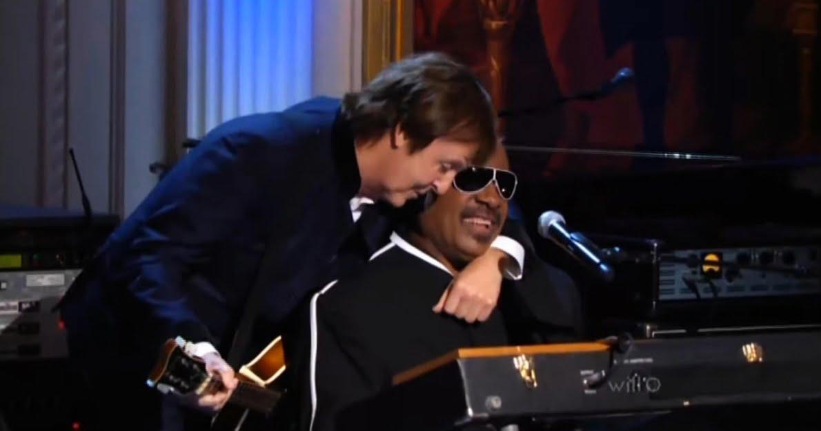 Stevie Wonder & Paul McCartney