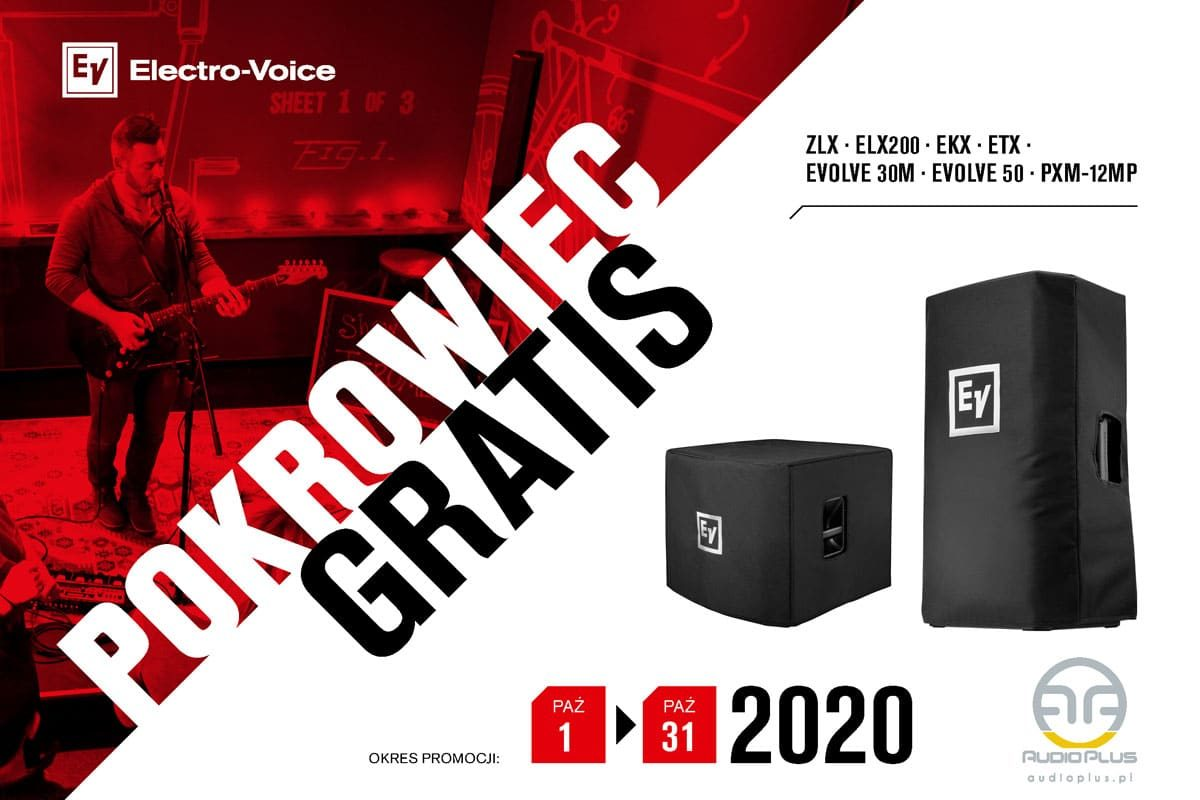 Electro-Voice – przypominamy o promocji