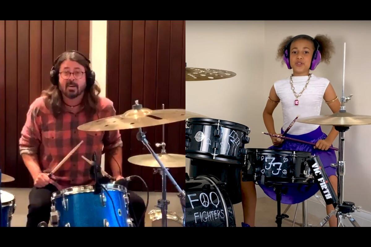 Dave Grohl vs Nandi Bushell – perkusyjna bitwa w Sieci