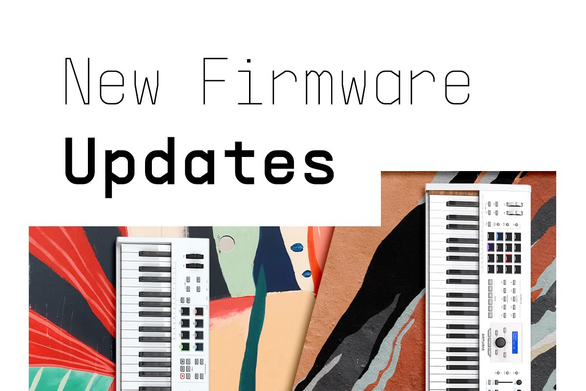 Arturia KeyLab MkII i KeyLab Essential – nowy firmware